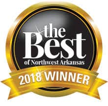 2018 The Best of Northwest Arkansas Moving Company Winner in Rogers AR