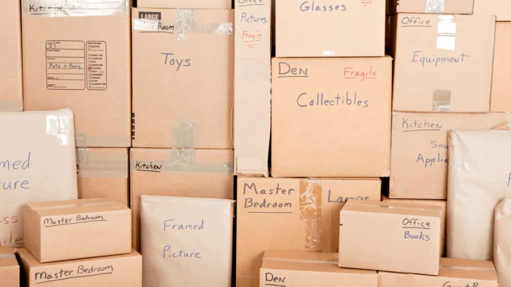 packing and moving services in rogers ar with young's moving company